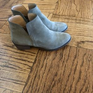 Splendid grey suede ankle boots 6